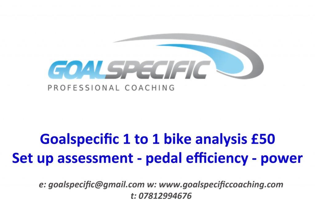 GS 1 to 1 bike analysis voucher