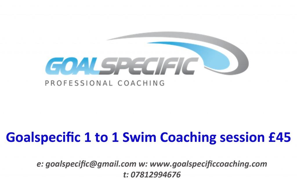 GS 1 to 1 swim coaching voucher