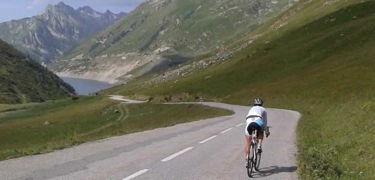 Triathlon Training in the French Alps